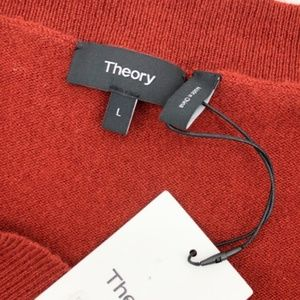 Theory Sweaters - Theory Cold Shoulder 100% Cashmere Sweater Red